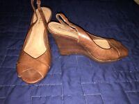 Women Brazilian Leather Shoes Size 8
