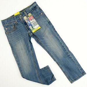 New Signature by Levi Strauss Boys Skinny Slim Vintage Lt Denim Jeans 6 Regular