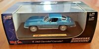 MAISTO – 1965 CHEVROLET CORVETTE – BLUE – 1:18 SCALE DIE CAST SPECIAL EDITION
