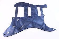 Textured Blue Anodized Aluminum HSS Strat Pickguard- Fits Fender Stratocaster