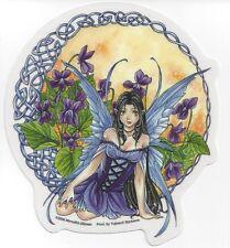 Celtic Violet Fairy Anime Faery Sticker Car Decal Meredith Dillman faerie