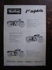 Norton Motorräder (50, 88, 99, ES2, Jubilee 250, Mans)