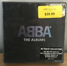 NEW! (SEALED) - ABBA The Albums (Remastered 9 CD Box Set) AGNETHA FALTSKOG NEW!
