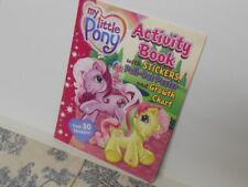 Vtg. My Little Pony Activity / Sticker Book