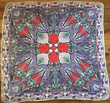 LIBERTY OF LONDON Ianthe 90 x 90 Silk Scarf NWT
