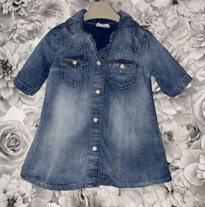 Girls Age 6-9 Months - Next Denim Dress