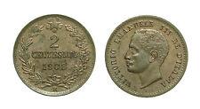 pci2530) Regno Vittorio Emanuele III (1900-1943) 2 Centesimi Valore 1908