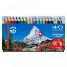 CARAN D'ache Prismalo Aquarelle Watercolour Pencils 40 Tin Set