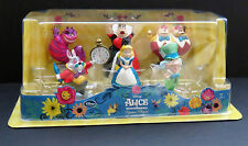 Disney Store Alice in Wonderland Mini Figurine Playset - Set of 6