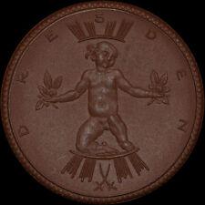 DRESDEN: Medaille 1922, Porzellan - Meissen. JAHRESSCHAU DEUTSCHER ARBEIT.