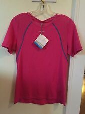 New Women's Craft Cooling Concept Base Layer Size Large Pink Short Sleeve