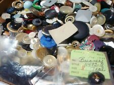 large lot 2.5 POUNDS lbs hundreds hundreds vintage clean SEWING CLOTHING BUTTONS