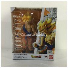 Dragon ball Z Super Saiyan Son Goku tamashi Action Figure S.H.Figuarts USED DHL