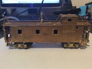 International Models Takara built, Brass Chicago Great Western Caboose
