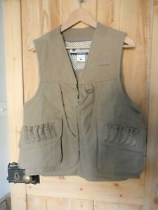Great Columbia Shooting/Hunting Vest/Gilet Size USA Men's Small New