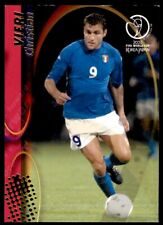 Panini World Cup 2002 Card - Christian Vieri Italy No. 74