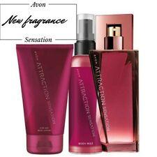 LADIES womans fragrance perfume edp 50ml ATTRACTION SENSATION body lotion mist