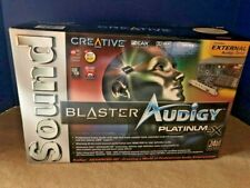 Creative Labs Sound Blaster Audigy Platinum eX Soundcard (Open Box - Brand New)