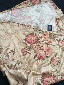 Ralph Lauren Guinevere Shower Curtain Cotton Sateen