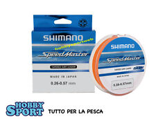 FILO SPEEDMASTER SHIMANO TAPERED  CONICO 0,26/0,57mm new pack