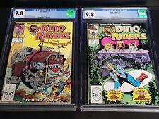 Dino Riders comics CGC graded 9.8 hard to find
