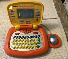 VTech Tote & Go Laptop PLUS, Orange/Yellow - 30 Engaging Learning Activities