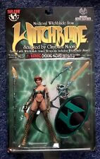 WITCHBLADE Medieval Witchblade CLAYBURN Moore Female action figure 1998 NEW