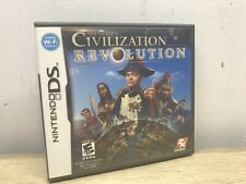 Sid Meier's Civilization Revolution (Nintendo DS, 2008) Complete