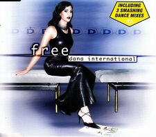 DANA INTERNATIONAL - FREE CD SINGLE 4 TRACKS 1999 SLIM BOX EXCELLENT CONDITION