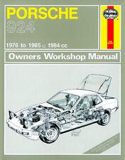 Porsche 924 & Turbo Reparaturanleitung workshop repair manual Buch book Handbuch