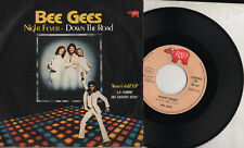 BEE GEES disco 45 giri STAMPA ITALIANA  Night fever + Down the road OST 1978