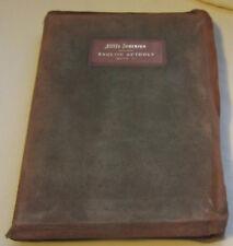 Elbert Hubbard,Little Journeys,English Authors,Volume VII,Illuminated,Signed