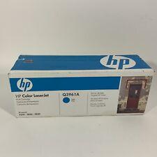 HP Color LaserJet Q3961A Cyan Print Cartridge 2550 2820 2840 New In Box Sealed