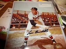 Lou Burdette  Milwaukee Braves  Signed/Autographed  8 x 10.