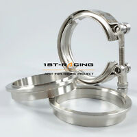 """S400 Compressor Outlet Flange and Clamp 3/"""" or 3.5/"""" ALUMINUM   100/% USA MADE"""