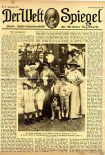 """Fürstin Lichnowsky bei Gartenfest der """"Gesellschaft für Kinderschutz"""" von 1913"""