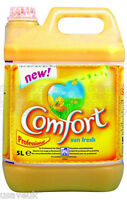 2 x Comfort Sunshine Sun Fresh Fabric Conditioner Softener 45 Washes 5L - Yellow
