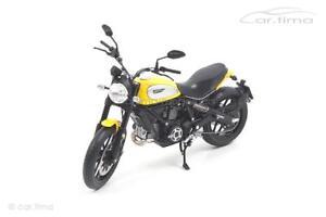 Ducati Scrambler Classic 803cc - Orange Sunshine - TSM-Model 1:12 - TSMMC0003