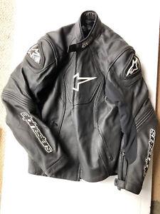 Alpinestars GP-R Perforated Leather Motorcycle Jacket