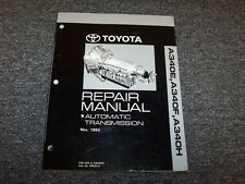 1988 1989 1990 1991 Toyota 4Runner A340H Transmission Service Repair Manual 4x4