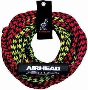 Tube Tow Rope 2 Rider 60ft Two Section Float Tubing Water Sports Towable Airhead