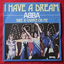 Abba, i have a dream / take a change on me, SP - 45 tours France