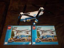 Lego® City - 4439 - Polizei Hubschrauber / Transporter mit Bauanleitung