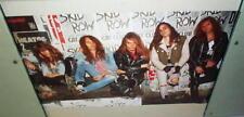 SKID ROW 1989 Vintage Group Poster