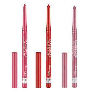 Rimmel Exaggerate Full Colour Automatic Lip Liner Pencil Select Your Shade New