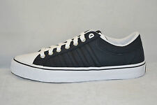 K Swiss ADCOURT CVS Womens CASUAL TENNIS Shoes size 7 NEW BLACK WHITE CANVAS