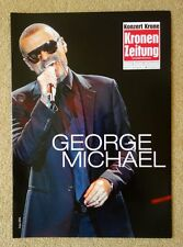 GEORGE MICHAEL+SPECIAL MAGAZINE+SYMPHONICA TOUR 2012+VIENNA+GERMANY+WHAM!+GAY