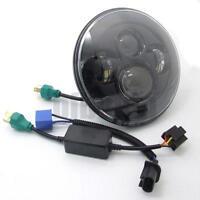 Black Hi-Lo Beam Round 4 LED Headlight Bulb Lamps for Harley Jeep Wrangler