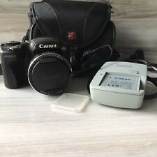 Canon PowerShot SX500IS 16.0MP Digital Camera w/Case, Charger, Battery READ DESC