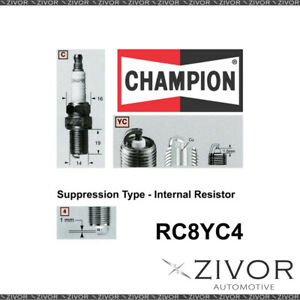 Promising Quality Champion Spark Plug For SUZUKI -MPN RC8YC4 *By Zivor*